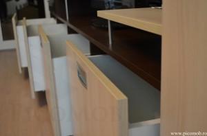 PicoMobilier Living salcam Lakeland sertare Tandem cu  extragere totala utile pentru orice casa acces total si design modern